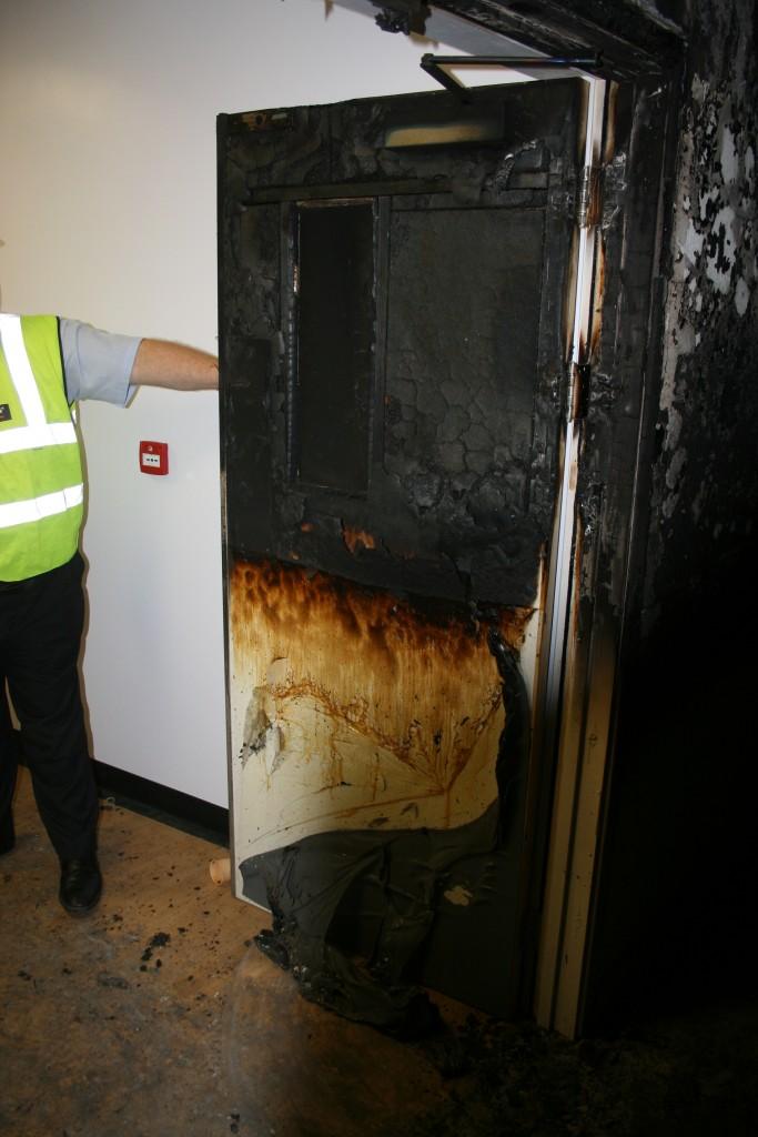 Fire Doors A Real Life Example Kent Flush Doors